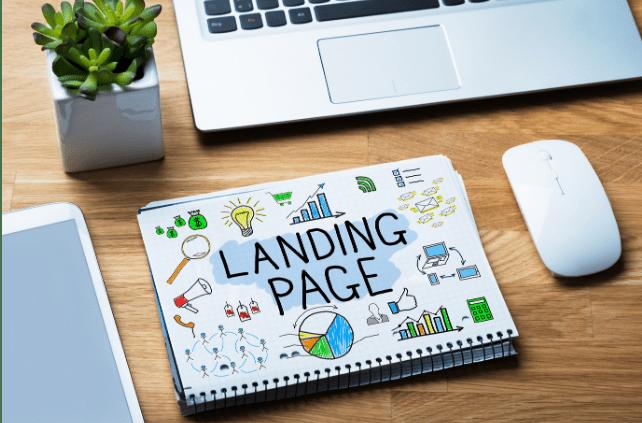 Landingpage auf Block